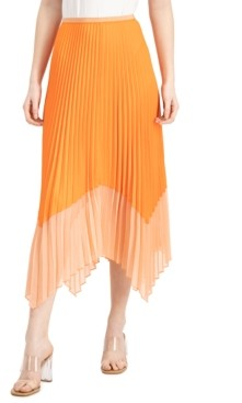 French Connection Ali Pleated Midi Skirt