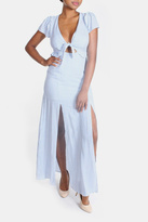 Cotton Candy Harbor Cut Out Maxi