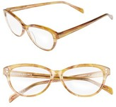 Corinne McCormack Women's Marley 52Mm Reading Glasses - Golden Yellow
