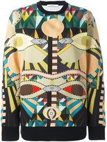 Givenchy 'Crazy Cleopatra' print sweatshirt - women - Cotton - XS