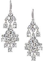 Carolee Broadway Lights Double Drop Chandelier Earrings