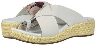 Spenco Oasis Slide (Brown) Women's Sandals