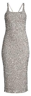 Parker Black Women's Sage Sleeveless Sparkle Dress - Size 0