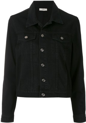 Egrey Flap Pockets Denim Jacket