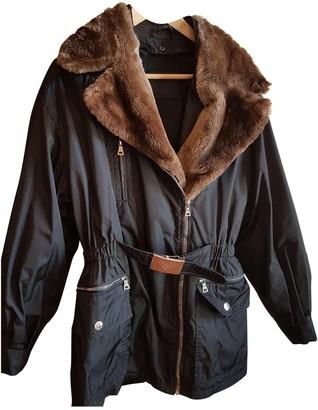 Prada Black Trench Coat for Women Vintage