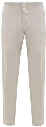 J.w.brine J.w. Brine - Craig Drawstring-tie Linen-blend Trousers - Grey