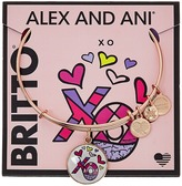 Alex and Ani XO Art Infusion Charm Bangle - Romero Britto Bracelet
