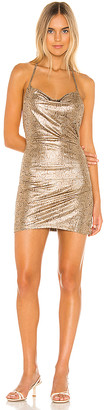 superdown Eden Cowl Slit Dress