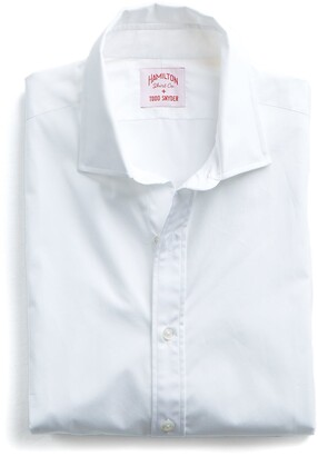 Hamilton Made in the USA + Todd Snyder Dress Shirt in White