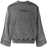 Kokon To Zai inside-out sweatshirt - men - Cotton - S