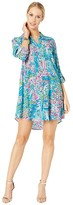 Lilly Pulitzer Natalie Cover-Up (Multi Postcards from Positano) Women's Swimwear