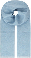 Richard James Deco Linen Scarf