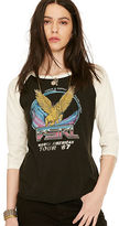 Denim & Supply Ralph Lauren Raglan-Sleeve Graphic Tee