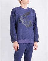 Anglomania Sword stretch-cotton sweatshirt