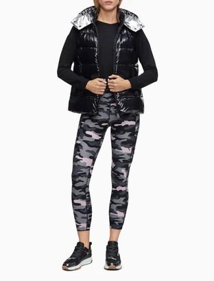 Calvin Klein Down Hooded Puffer Vest