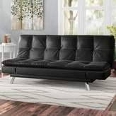 Hokku Designs Charmant Twin Tufted Back Convertible Sofa
