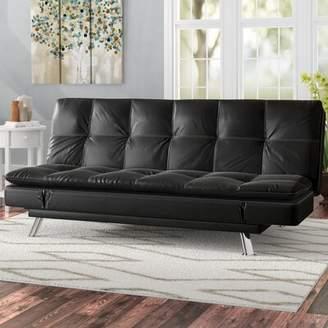 Hokku Designs Charmant Tufted Back Convertible Sofa
