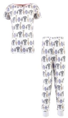 Hudson Baby Unisex Cotton Pajama Set Size 6