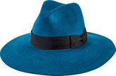 San Diego Hat Company Women's Brushed Wool Floppy Fedora with Bow WFH8050