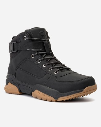 Express Reserved Footwear New York Preston Mid-Top Sneaker Boots