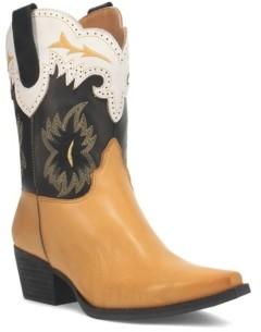 Dingo Women's Tatiana Leather Boot Women's Shoes