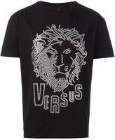 Versus lion head T-shirt - men - Cotton/Spandex/Elastane/metal - L