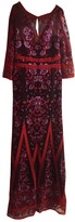 Marchesa Purple Lace Dress for Women