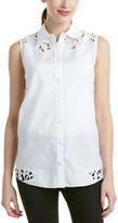 Magaschoni Sleeveless Shirt