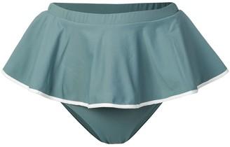 Marysia Swim pleated bikini bottoms