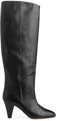 Arket Knee-High Wide-Shaft Boots