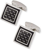 Bugatchi Square Enamel Cuff Links