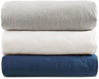 Simmons Deluxe Quilted Cotton 18 lb. Weighted Blanket