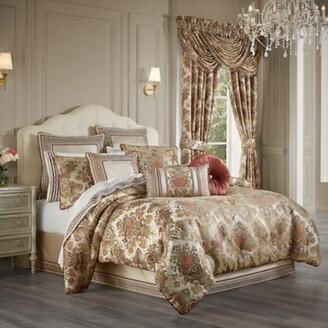 J Queen New York J. Queen Juliette 4-Piece California King Comforter Set in Terracotta