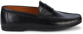 Bally Dester Leather Loafers