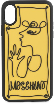 Moschino Face iPhone XS Max Phone Case