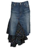 Junya Watanabe Comme Des Garçons Asymmetrical Denim Skirt