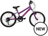 Falcon Violet Girls Bike 20 Inch Wheel