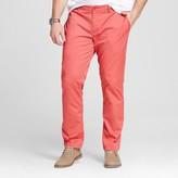 Merona Men's Big & Tall Slim Straight Washed Chino Pants