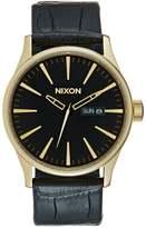 Nixon Sentry Watch Goldcoloured/black