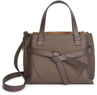Loewe Mini Gate Leather Top Handle Bag