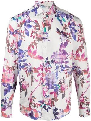Etro Rose-Print Shirt