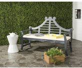 Safavieh Azusa Outdoor Ash Grey/ Beige Bench