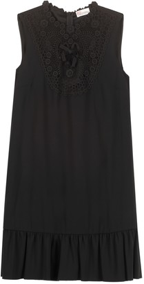 RED Valentino Lace Detail Dress