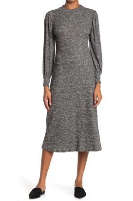 Lush Long Sleeve Sweater Dress