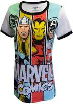 Marvel Comics Ladies Avengers Team Tee Shirt for women