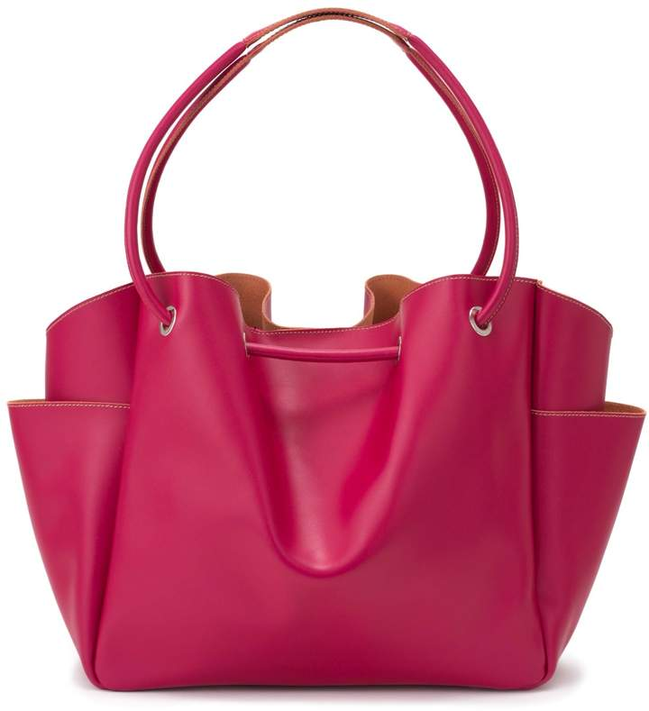 Alexandra de Curtis Pink Drawstring Bag