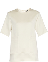 Joseph Ruppert satin top