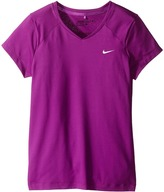 Nike Greens Top Girl's Short Sleeve Pullover