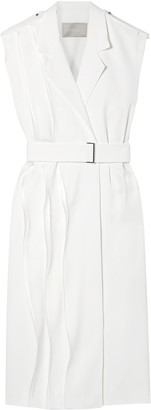 Jason Wu Wrap-effect Ruffled Crepe Dress
