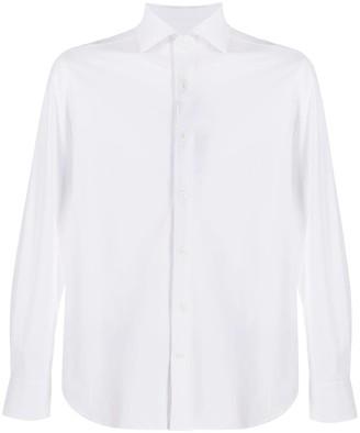 Corneliani Plain Long-Sleeved Shirt